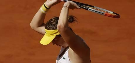 Anastasia Pavlyuchenkova première finaliste après sa victoire sur Zidansek