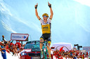 Robert Gesink won in 2016 een Vuelta-etappe.