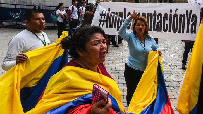 Colombianen zijn opgelucht dat er nu eindelijk een handtekening onder de vrede gezet wordt.