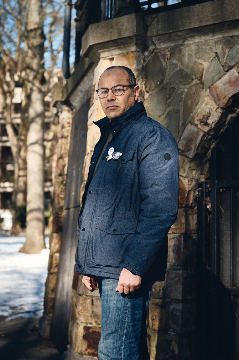 Ali Aarrass: 'Ik ben veroordeeld op grond van 'bekentenissen' die ik verzon omdat ik de pijn niet meer kon verdragen. Eerst tot vijftien jaar, daarna twaalf. En ik heb ze uitgezeten. Tot de laatste dag.' Beeld Thomas Nolf