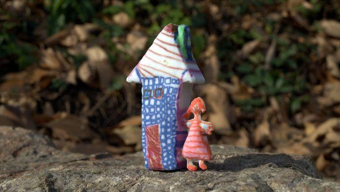 Alle creaties van je kinderen in 3D dankzij het project Crayon Creatures.