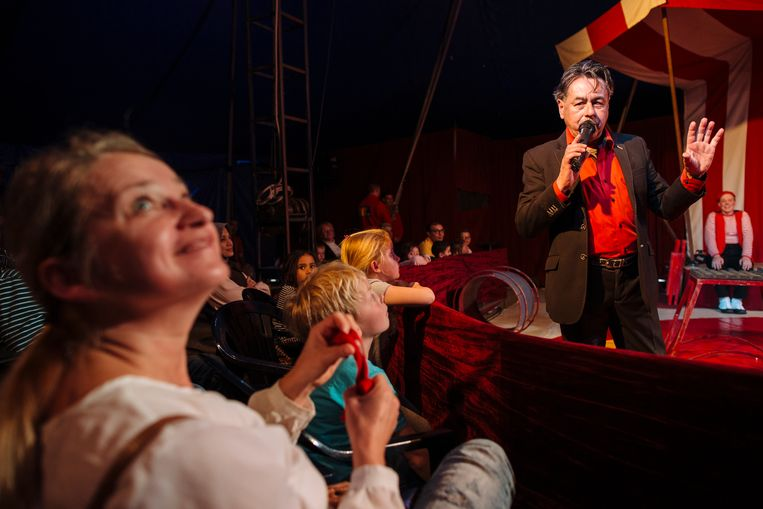 Circusbaas Maurice Veldkamp. Beeld Marc Driessen