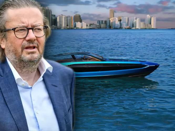 Zeldzame buitenlandse investering: Marc Coucke investeert samen met Armani miljoenen in bouwer van luxejachten