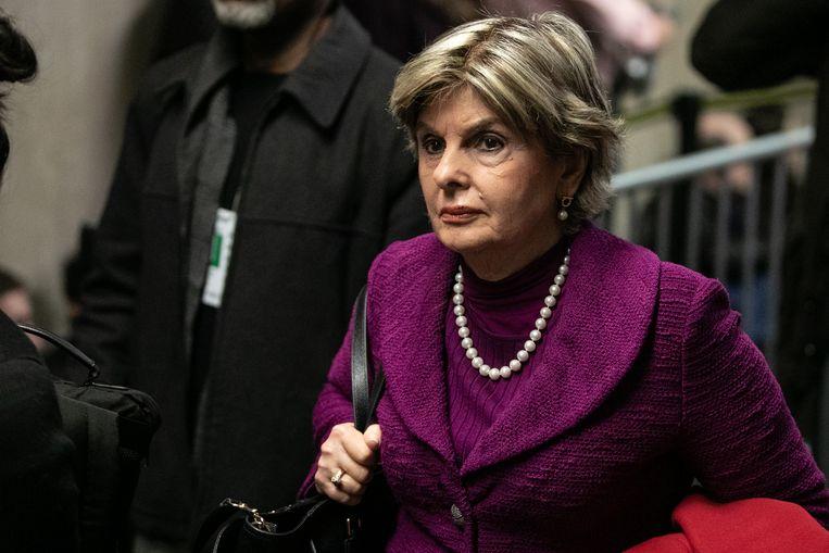 Gloria Allred: 'Dit is een tijd waarin vrouwen en slachtoffers sterker worden.' Beeld Getty Images