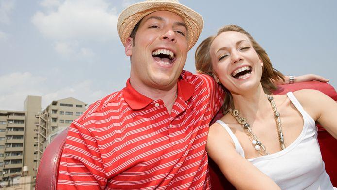Een ritje in de achtbaan vergroot de kans op succes. © Thinkstock