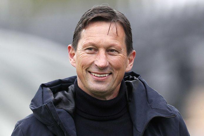 Roger Schmidt in Venlo, tijdens VVV-PSV.