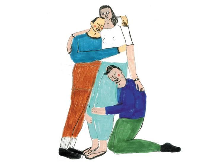 Hoe Laura en Marinus omgaan met hun polyamoreuze relatie