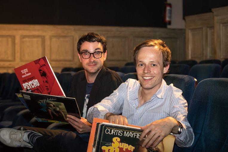'The Original Soundtrack' met Robin Broos en Jeroen Struys. Beeld © Geert Van Hoeymissen