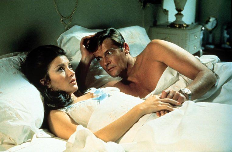 Roger Moore als James Bond, 1973. Beeld anp
