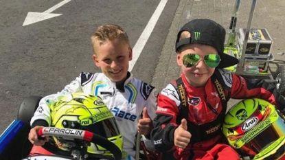 Terwijl papa geschorst is: 6-jarige zoon van Anthony Kumpen gaat ook racen