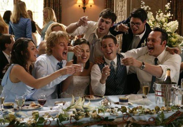 Wedding Crashers.  Beeld kos