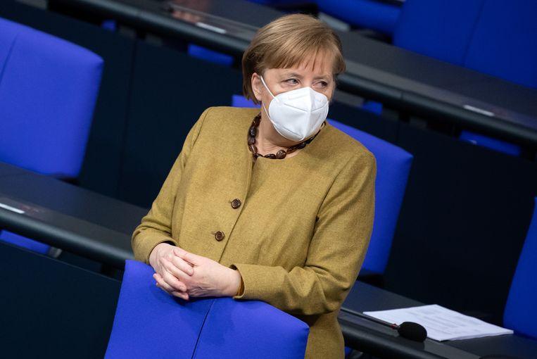 Angela Merkel. Beeld Bernd von Jutrczenka/dpa