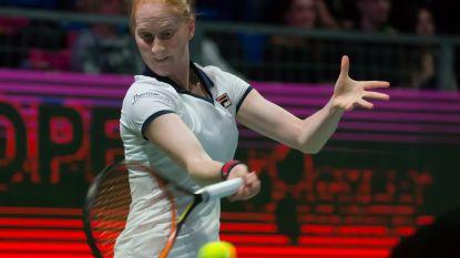 Alison Van Uytvanck sneuvelt in eerste ronde in Indian Wells