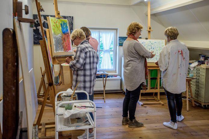 Onder meer amateurschilders kunnen hun werk tonen tijdens festival Creative Footprint in Breda.