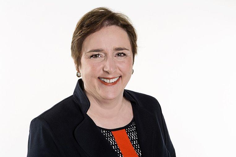 Karin Brouwers, Vlaams Parlementslid (CD&V): 'Misschien moeten we in de nieuwe beheersovereenkomst vastleggen dat  de VRT bijvoorbeeld moet communiceren over de contracten van iedereen die boven een bepaald loonplafond uitkomt, net zoals de BBC dat doet?' Beeld RV