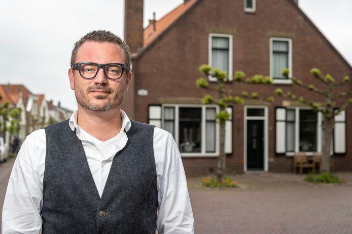 Robbert Lievense, fractievoorzitter van Leefbaar Schouwen-Duiveland