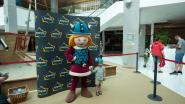 Wickie de Viking verrast Wijnegem Shopping Center met bezoekje