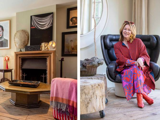 """Kunstexperte Bie Baert wisselt om de haverklap haar interieur: """"Alles wat je ziet, is te koop"""""""