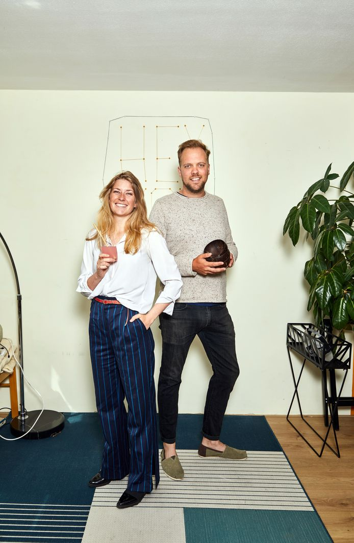 Nadia Koppenol en Florian Huising.