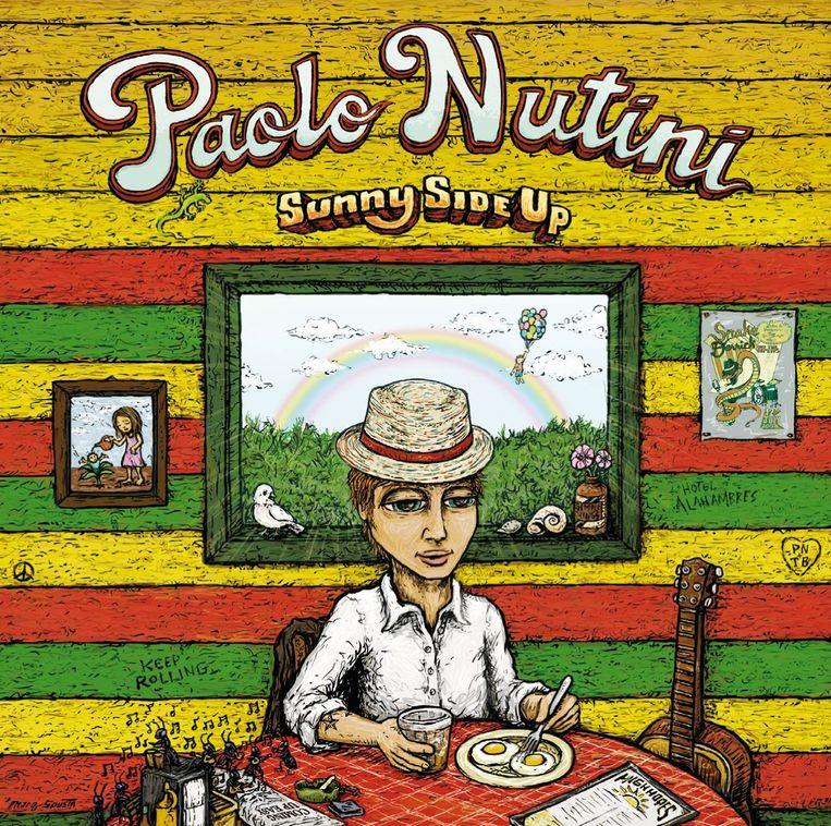 Album van Paolo Nutini uit 2009. Beeld