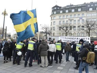 Anti-migratieprotest in Zweden neemt toe
