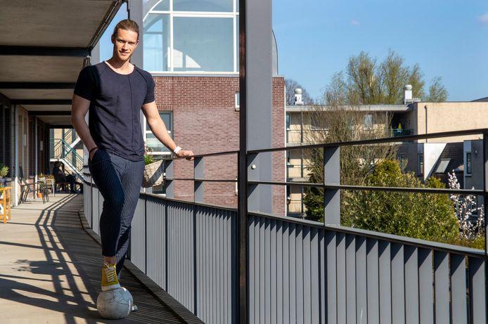 Joël van Wijk gaat terug naar DTS Ede.