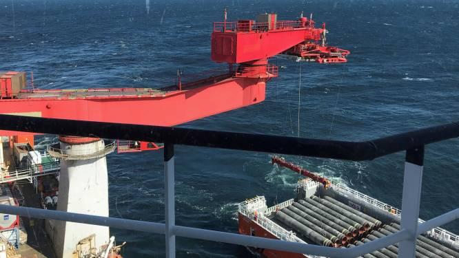 Werken aan omstreden pijpleiding Nord Stream 2 opnieuw begonnen na tests