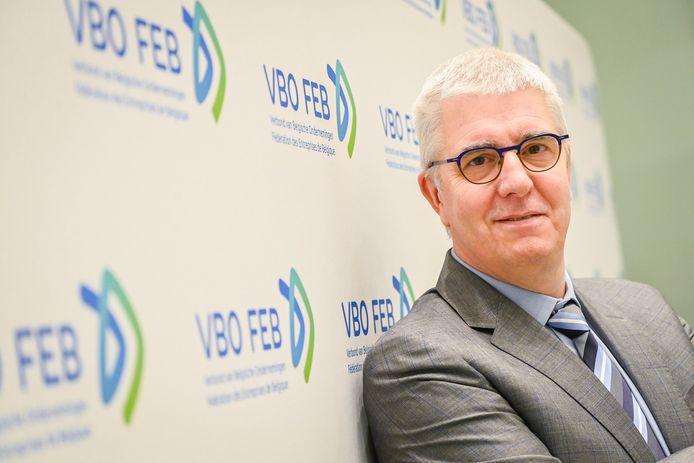 Pieter Timmermans, président de la FEB