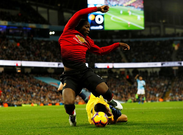 Lukaku dwong na één minuut een penalty af bij zijn invalbeurt.