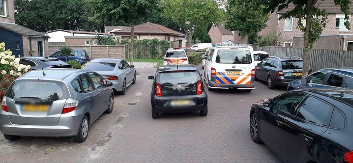 De straat werd afgesloten voor onderzoek bij schietpartij op het woonwagenkamp in Bavel.