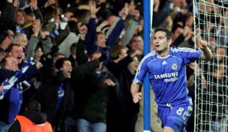 Lampard pakte uit met een goal en assist. Beeld UNKNOWN