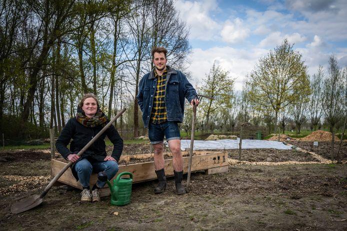 Lize en Roel willen hun groenten en fruit vanaf volgend jaar aan de man brengen via een pluktuin of een afhaalpunt voor lokale producten.