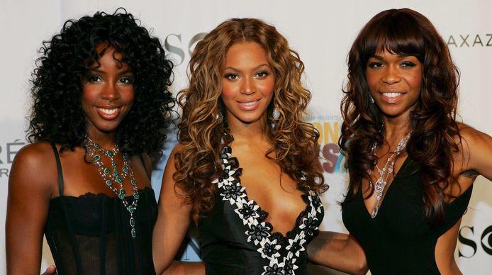 Kelly Rowland, Beyonce Knowles en Michelle Williams