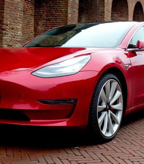 Diefstal Tesla-spiegels: vier verdachten aangehouden