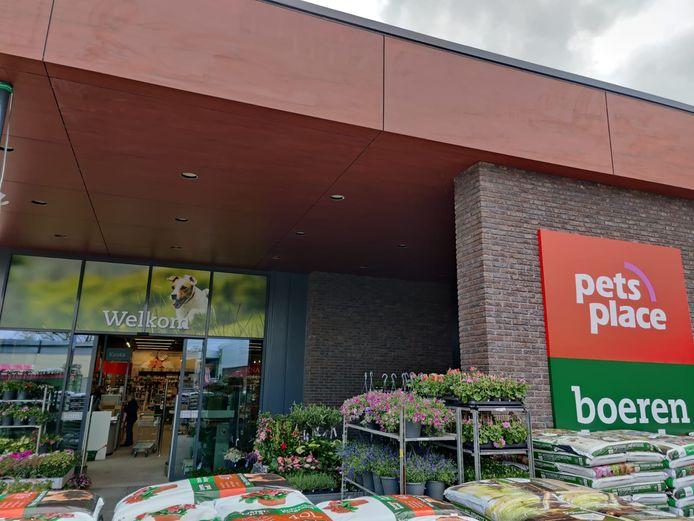 De nieuwe entree van Pets Place op het KVL-terrein in Oisterwijk.