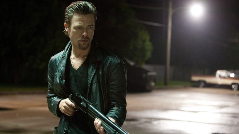Brad Pitt in Killing Them Softly van Andrew Dominik. Beeld