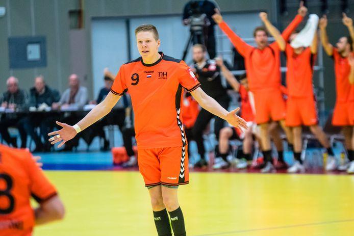 Handballer Niels Versteijnen uit Berkel-Enschot