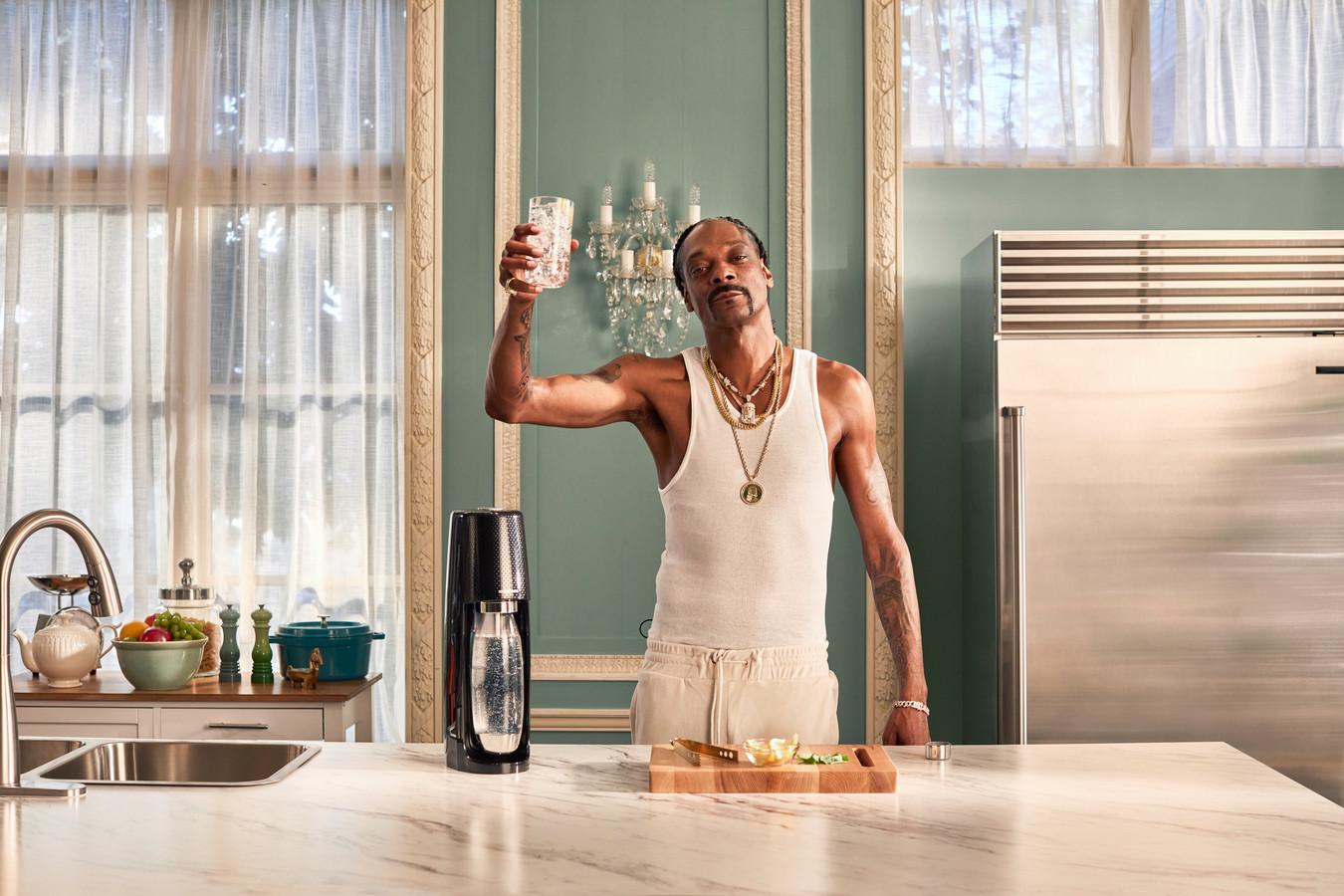 Snoop Dogg dans la nouvelle campagne SodaStream