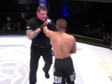 Un combattant de MMA disqualifié après avoir bousculé l'arbitre