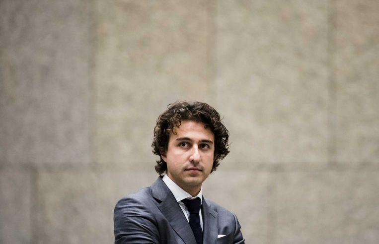 Jesse Klaver (GroenLinks):  'Herziening toeslagensysteem moet klaarliggen voor een volgend kabinet.'  Beeld ANP