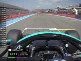 F1 GP Frankrijk: highlights Vrije Training 1