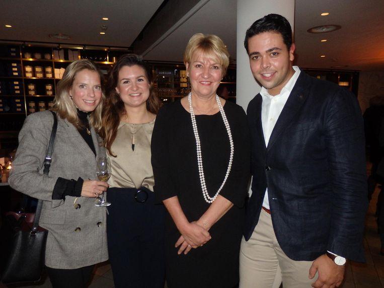 Team INK hotel: Machteld Schmidt, Marlo Vermeulen, Jolanda Sadni Ziane en Moreno Forte. 'Where stories are yet to be written' Beeld Schuim
