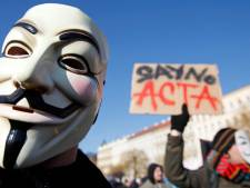 Manifestation contre le traité ACTA à Bruxelles