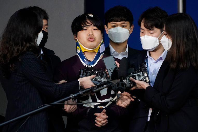 De 24-jarige Cho Ju-bin, veroordeeld tot 40 jaar celstraf. Beeld AP