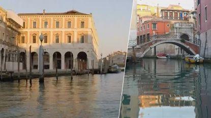 Prachtig spookachtig: zo ziet verlaten Venetië er nu uit vanuit bootje