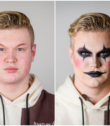 De perfecte halloweenlook creëeren in 10 stappen? Make-up artist Wout uit Haaksbergen laat je zien hoe