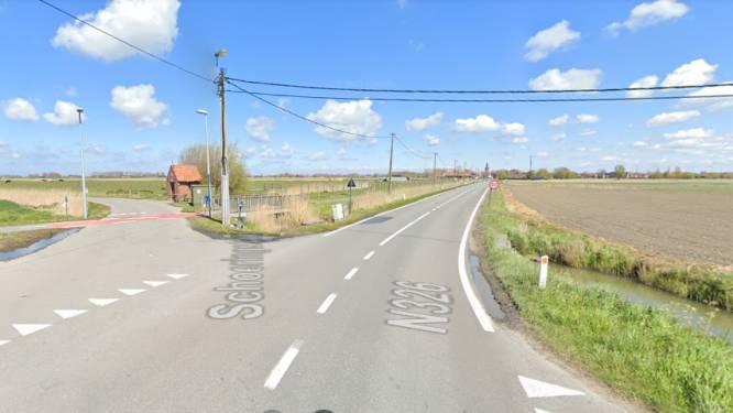 Wegverzakking langs Nieuwe Steenweg wordt hersteld
