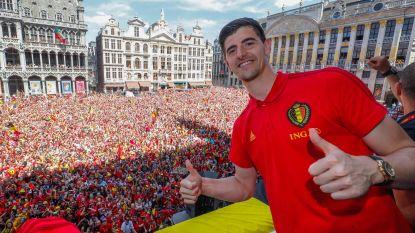 Thibaut Courtois uitgeroepen tot 'Doelman van het Toernooi'
