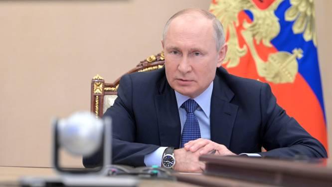 """Poetin: """"Rusland wil dialoog met VS voortzetten als ook Washington daartoe bereid is"""""""