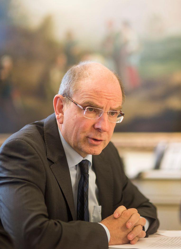 Uittredend minister van Financiën Koen Geens (CD&V). Beeld BELGA